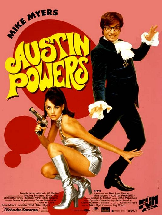 a review of international man of mystery austin powers Austin powers: international man of mystery movie reviews and ratings -showtimescom rating of 367 out of 5 stars.
